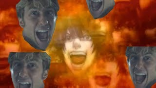 Death Note's Second Opening but Light Turner Screams