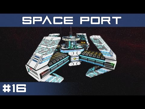 Space Port   StarMade Station Reviews Ep.16