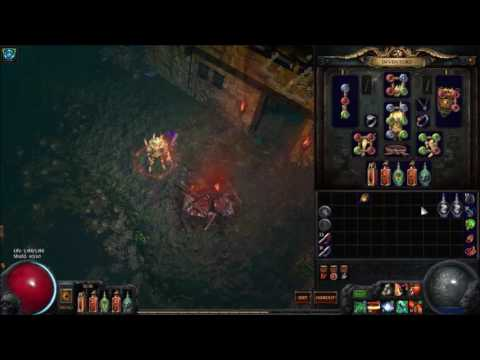 [Path of Exile] 2.4 Poison Hurricane Build Update