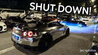 Police SHUT DOWN 0808 Car Meet in Singapore! GTRs Pulled Over