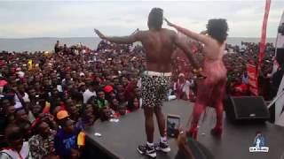 RODEN Y & SHEEBAH performing SITANI TONKEMA Live at Zzina Beach Carnival 2018