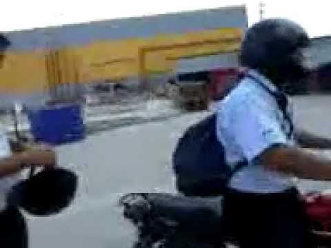 david tavara y el jale en la moto