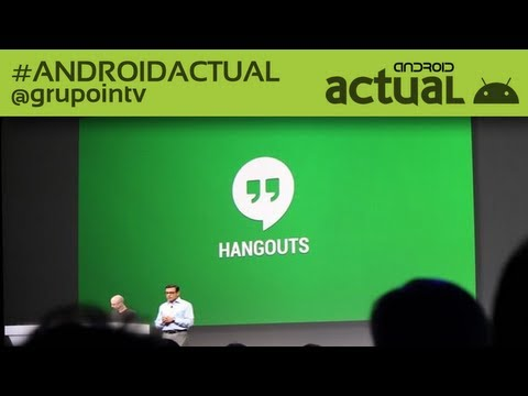 NEW GOOGLE PLUS, HANGOUTS AND PHOTOS - GOOGLE IO 2013 KEYNOTE