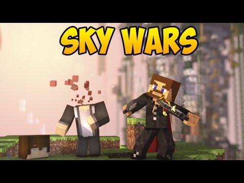 Один против всех! - Minecraft SkyWars #3 - Воздушные битвы