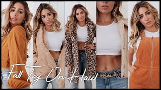 GET THE LOOK FOR LESS// Fall clothing Haul 2018