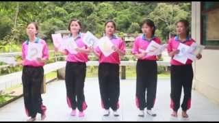 [HD]Ten little indians by Five Girls Teaching Group