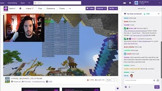 I found a Twitch streamer HACKING in Bedwars LIVE