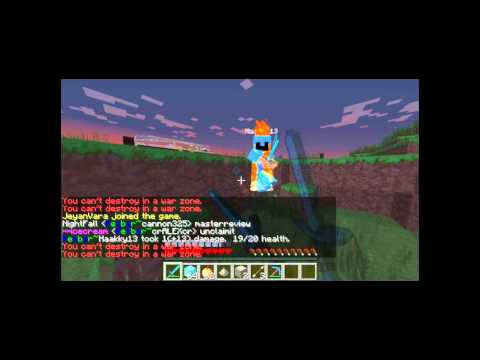 Minecraft Server Review 1.5.2 [factions. 24/7]