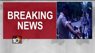 Ashrama School Teachers siege Telangana Secretariat - #TeachersProtest  - netivaarthalu.com