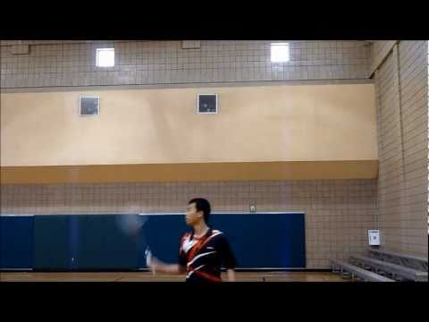 Badminton Backhand Technique - How To Backhand Clear, Smash, And Drop video