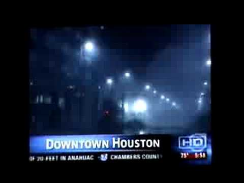 Hurricane Ike Downtown Houston Tornado