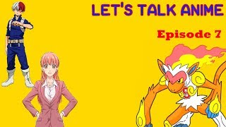 Let's Talk Anime episode 7: Spring 2018 anime First Impressions