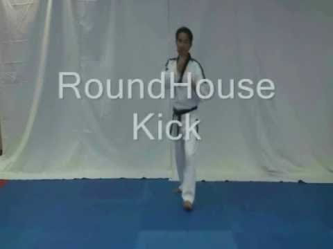 Kick Techniques Taekwondo Taekwondo Basic Kicks Tutorial