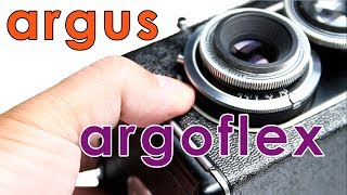 Argus Argoflex Twin Lens Reflex Camera Film
