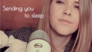 ASMR ♡ Sending you to sleep in German & English | 30 Minutes of Sleep Triggers