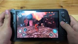 [02 Godfire:Rise of Prometheus Android Gameplay on JXD S7800b] Video