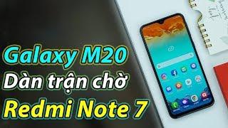Galaxy M20 dàn trận: Redmi Note 7 nên sợ?