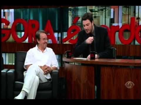 Carlos Villagrán, o Quico No Agora é Tarde - 11/04/2013