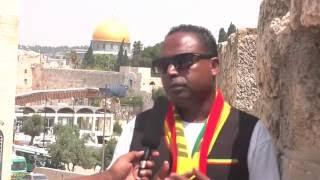 Ethiopiandj Interview With Artist Birhanu Tezera - 21/08/2016 - Tel Aviv ISRAEL