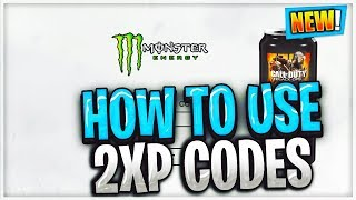 HOW TO REDEEM 2XP FOR BLACK OPS 4 AND HOW IT WORKS!