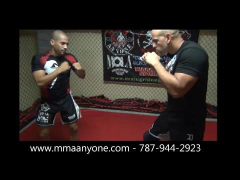 Técnicas de MMA con MMA Anyone - Armbar en Contraataque de Barrida de Pierna