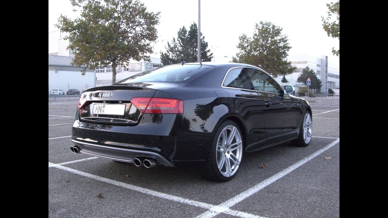 Audi S5 Coupe 4.2 V8 Tiptronic with CAPRISTO FLAP EXHAUST exhaust Sound Auspuff Sportauspuff ...