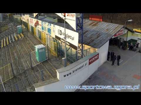 [żużel] Trening Falubazu Przed Sezonem 2014 (dron)