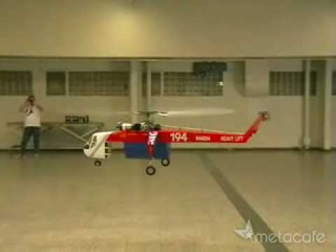 Turbine RC helicopter
