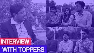 Interview with Toppers | Electrical Engineering