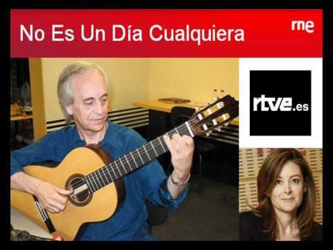 No es un día cualquiera - Paco Peña interviewed by Pepa Fernandez in RTVE (In Spanish)