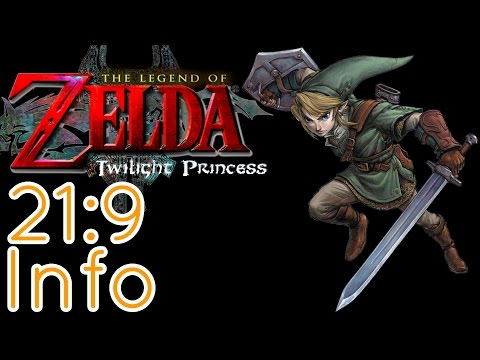 The Legend Of Zelda Twilight Princess 21:9 Review (2560x1080) (60fps) (Ultrawide)