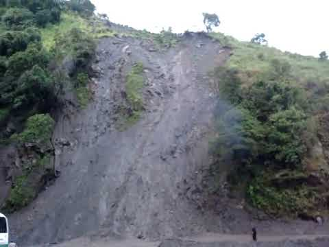 Derrumbe en Nariño -Colombia-