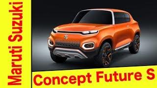 Auto Expo 2018   Maruti Suzuki Concept Future S   First Look