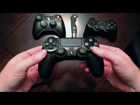 Dualshock 4 Unboxing and PC Gameplay