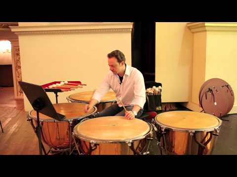 Behind the Scenes with New York Philharmonic Principal Timpani Markus Rhoten, 05/22/11