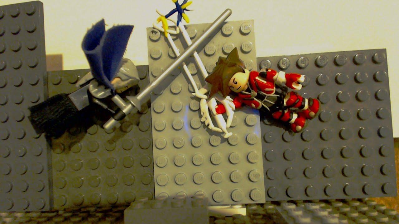Lego Sora vs Sephiroth Animation - Kingdom Hearts 2 Boss Fight - YouTube