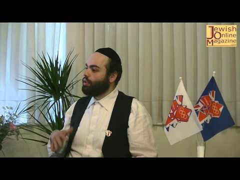 Interview Efrayim Goldstein London Olympic 2012 Torchbearer