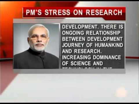 Research is key to development: PM Narendra Modi