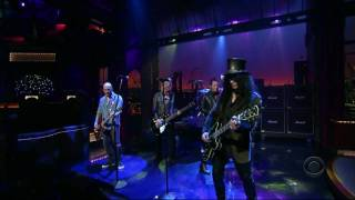 Velvet Revolver - The Last Fight HD (Late Show With David Letterman 22 August 2007)