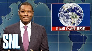 Weekend Update: U.N.'s Climate Change Report - SNL