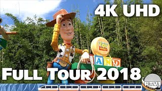 Toy Story Land - Full Tour and Overview in 4K - Disney's Hollywood Studios