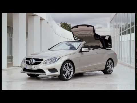 2013 E350 Cabriolet facelift - driving footage
