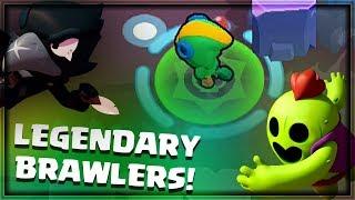 LEGENDARY BRAWLERS! How to Get Them | Brawl Stars Gameplay