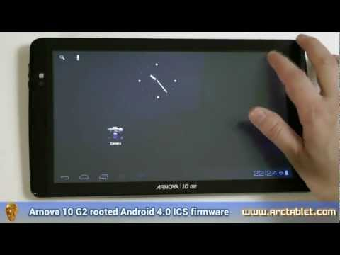 Arnova 10 G2 Android 4.03 ICS rooted firmware