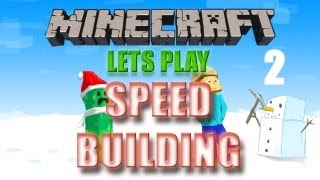 Minecraft: Lets Play - Speed Building Part 2 [XBOX 360 EDITION] - W/Commentary and STAMPY