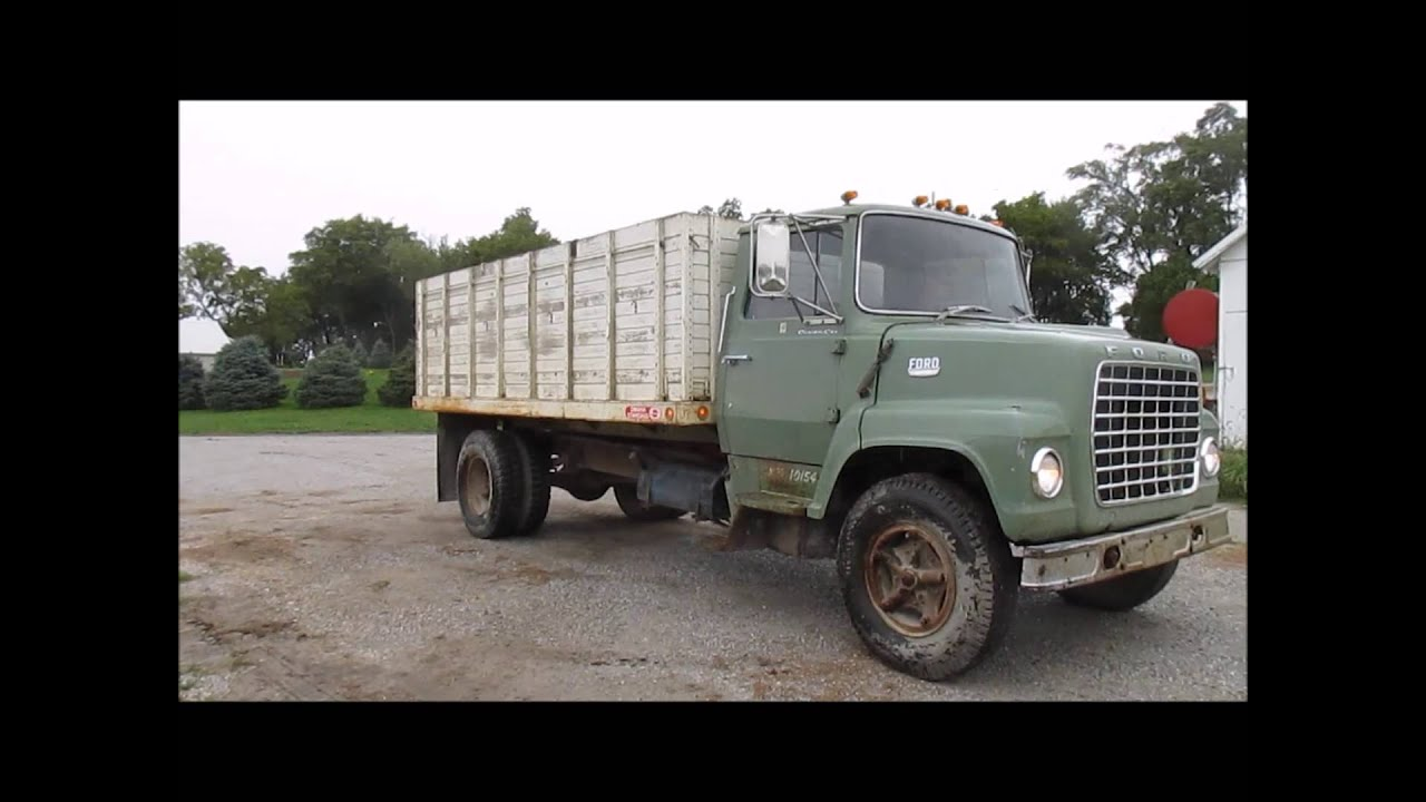 1969 Ford Truck For Sale1971 Ln600 Custom Cab Grain Highboy 4x4 1971 Sale Sold At