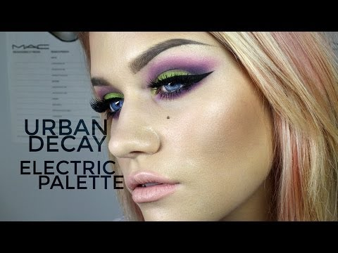 URBAN DECAY ELECTRIC PALETTE / HOW TO