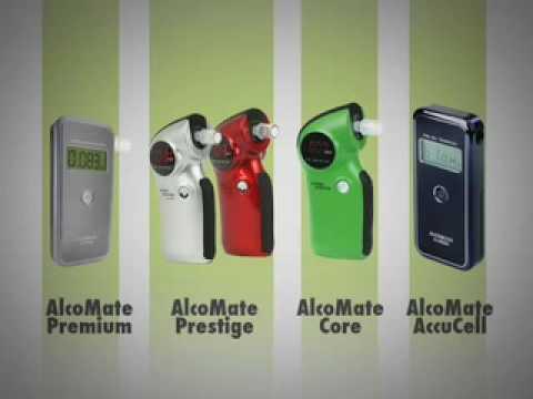 Breathalyzer | Alcohol Tester - Alcomate Premium & AlcoMate Prestige