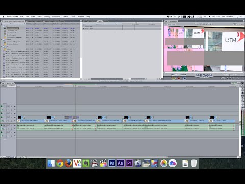 Final Cut Pro 7 / El Capitan render & playback issue solution. Canon E1 and Prores4444