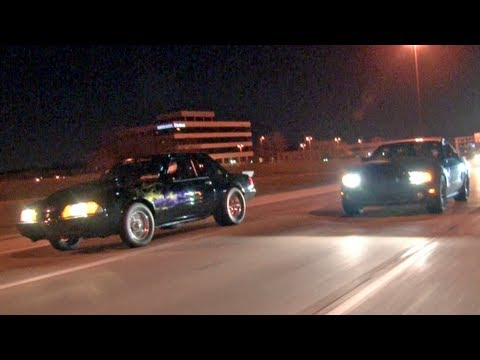 Street Racing all over town